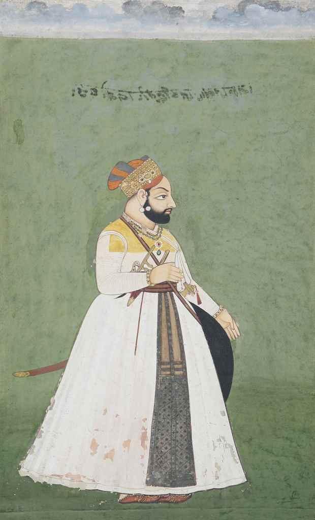 A portrait of Rawat Budh Singh