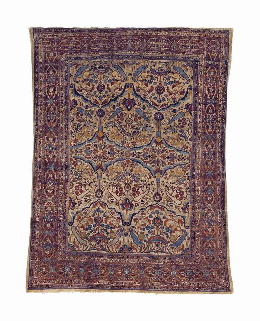 A silk heriz carpet northwest persia circa 1880 for Northwest flooring