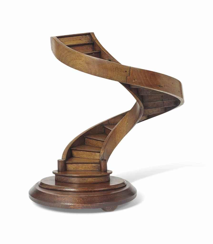 escalier de ma trise en spirale en noyer strasbourg deuxi me moiti du xix e si cle christie 39 s. Black Bedroom Furniture Sets. Home Design Ideas