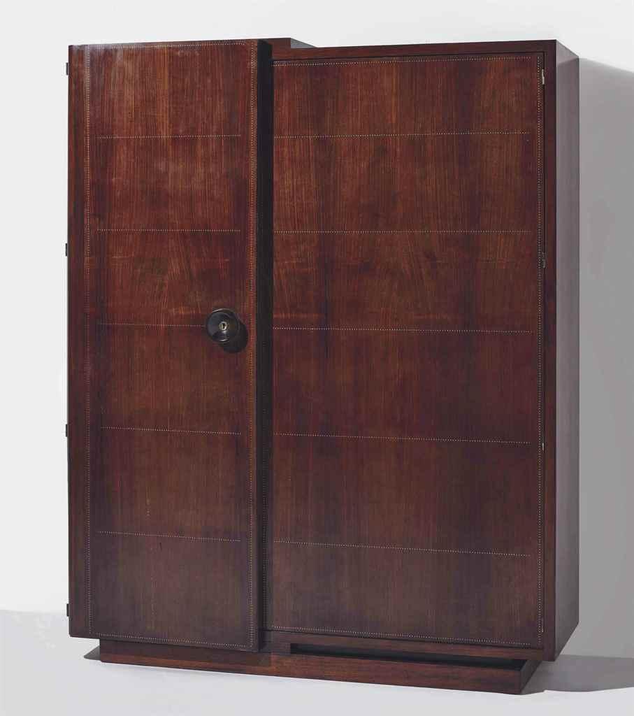 Andr sornay 1902 2000 meuble de rangement vers 1935 for Lot meuble ecureuil