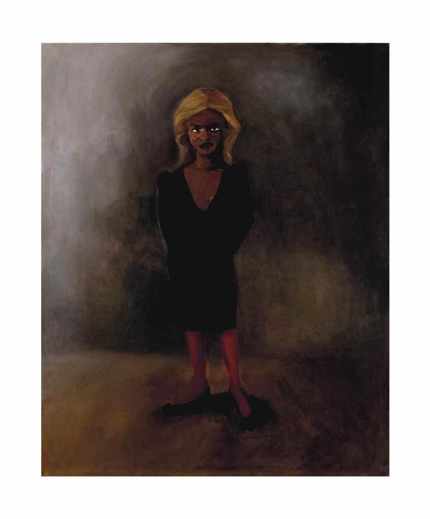 Lynette Yiadom-Boakye (B. 1977), Cemetery. Price realized: $45,600