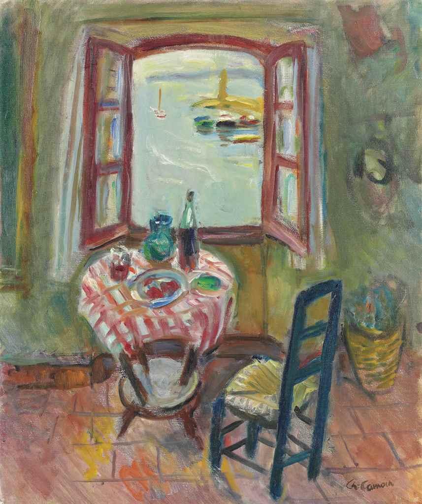 Charles camoin 1879 1965 la fen tre de l 39 atelier de for Fenetre atelier