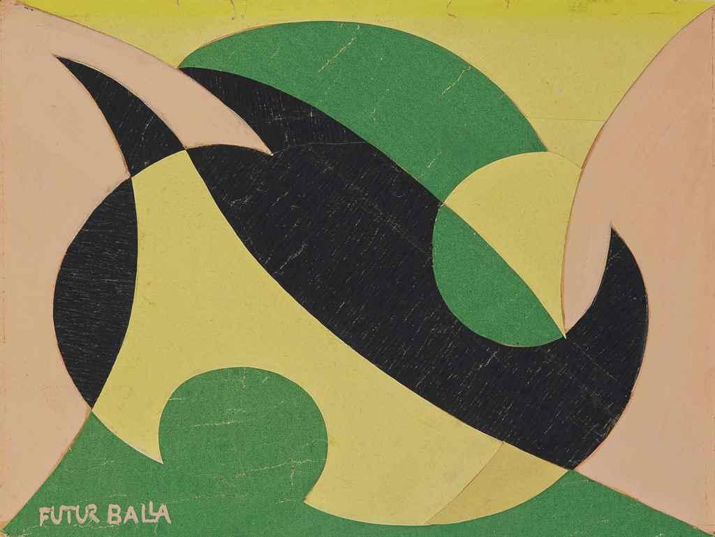 Giacomo balla 1871 1958 linea di compenetrazione for Futur balla