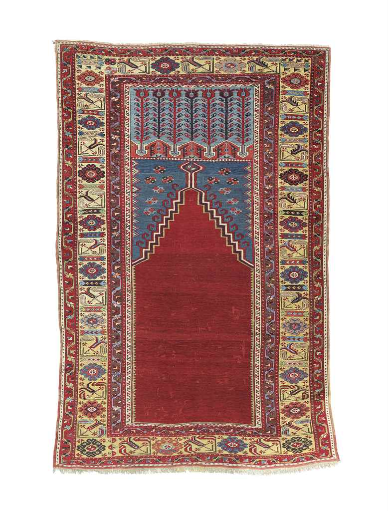 A Ladik Prayer Rug Central Anatolia Second Half 18th