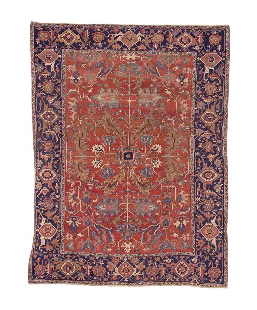 A heriz carpet northwest persia circa 1900 christie 39 s for Northwest flooring