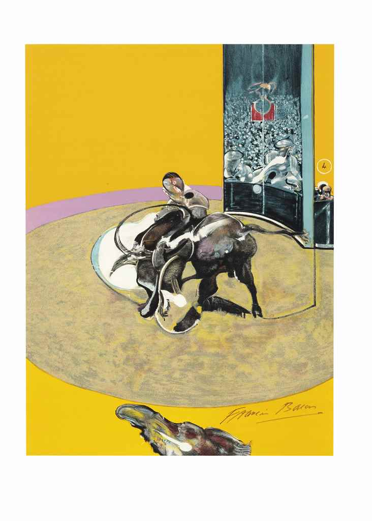 Francis bacon 1909 1992 miroir de la tauromachie for Miroir venitien paris