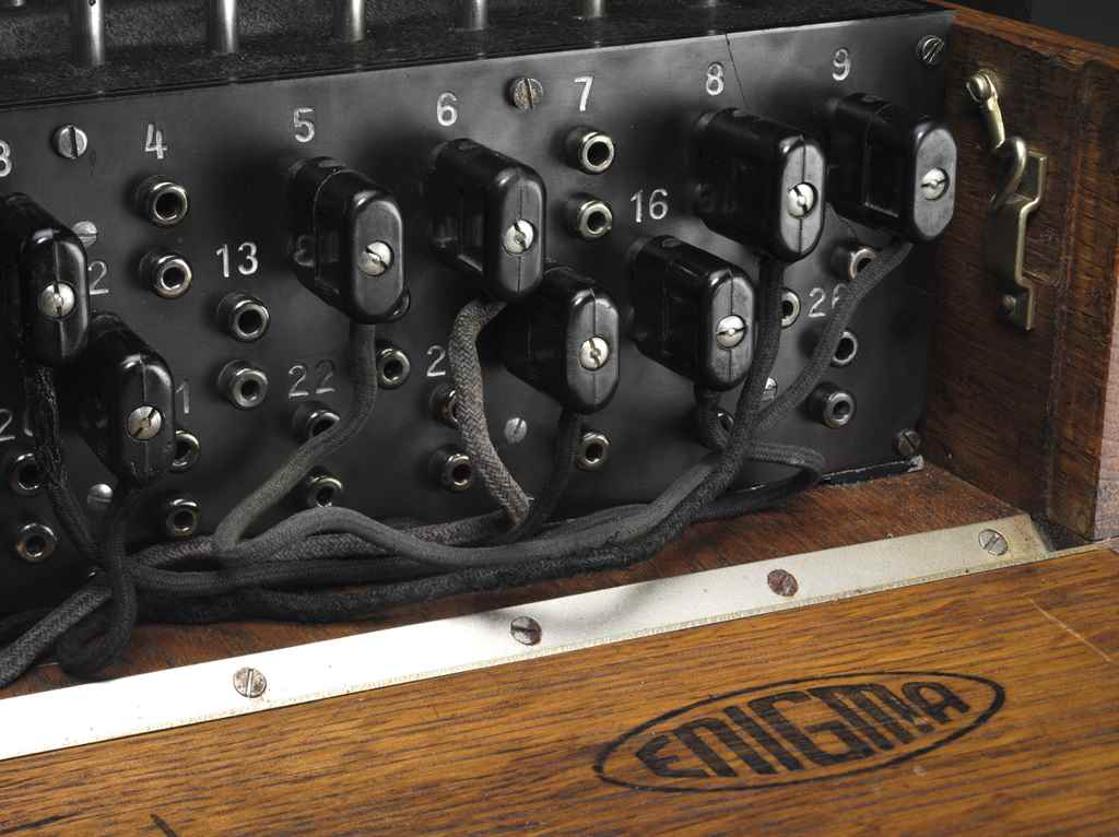 """A FOUR-ROTOR (""""M4"""") ENIGMA CIP"""