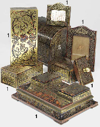 A Late Victorian Boulle style