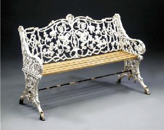 A 'Rustic' pattern cast iron g