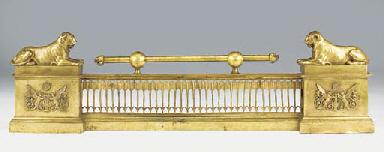 A Louis Phillippe gilt bronze