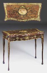 A George III mahogany and poly