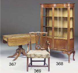 A Regency mahogany pedestal pe