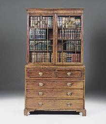 A late George III mahogany sec