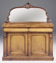 A Victorian mahogany sideboard