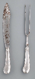 A German silver-mounted carvin