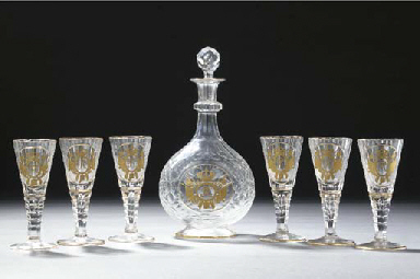 A Silesian decanter and a stop