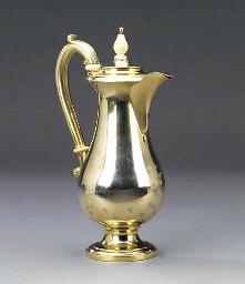 A German silver-gilt jug