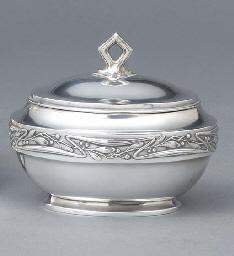 A German silver Jugendstil sug