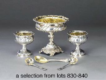 A German silver sugar-bowl and