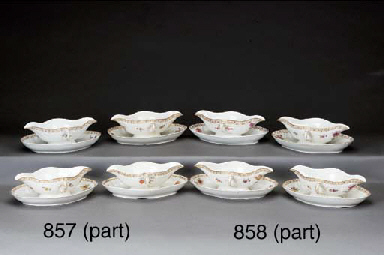 Four Berlin (K.P.M.) porcelain