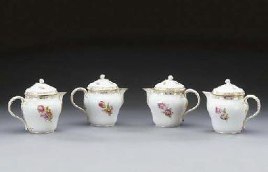 Four Berlin (K.P.M.) porcelain