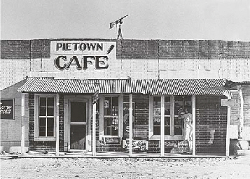 Pie Town, New Mexico.