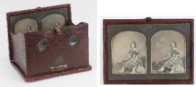Stereo-daguerreotype