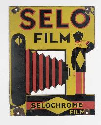 Selo film enamel advertising s