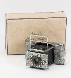 Ensign silver Midget camera