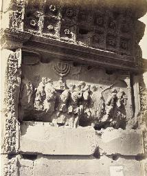 Rome, Bas-Relief de l'Arc de T