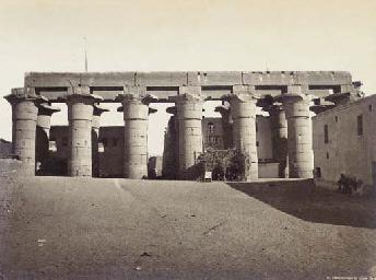 Philae - Vue générale du Templ