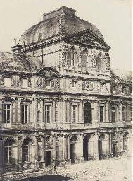 Pavillon de l'Horloge au Louvr