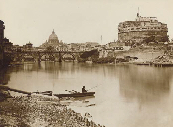 Roma - Castel S. Angelo e Cupo