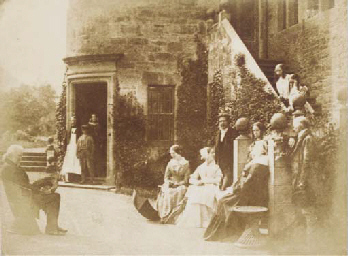 Group at Bonaly Towers, the ho