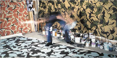 Gesture Towards Action Paintin