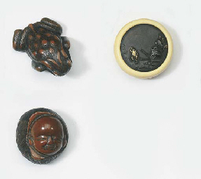 Three netsuke