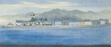View of Deshima