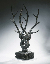 A wood tomb spirit