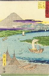 Hiroshige, oban tate-e Two pri