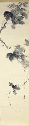 A kakemono Late 19th century