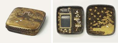 A Small Suzuribako [Box for Wr