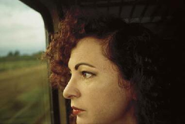 Self-Portrait on the train, Ge