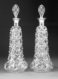 A Pair of George V Silver-Moun