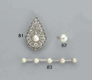 A BELLE EPOQUE DIAMOND AND PEA