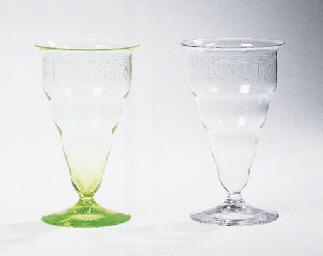 Odor Vitae ad Vitam, two glass