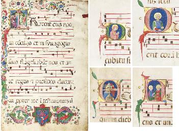 BESSARION ANTIPHONAL, in Latin