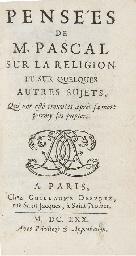 PASCAL, Blaise (1623-1662). Pe