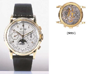 PATEK PHILIPPE. A FINE AND RAR