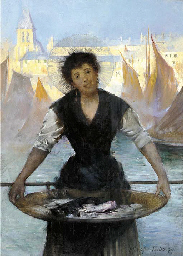 A fishergirl, Boulogne