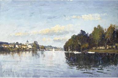 A Reach on the Upper Seine